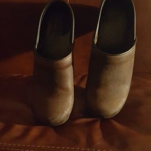 Brown Dansko Clog